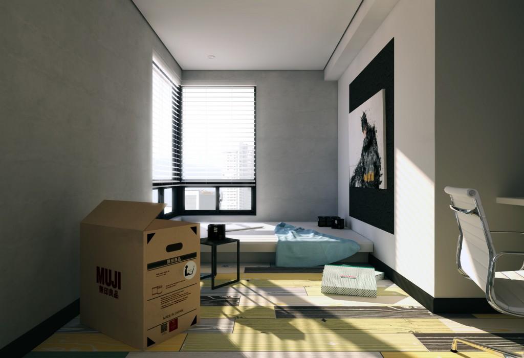 Taipei-Minimal-Bedroom-By-Hyatt-Pan